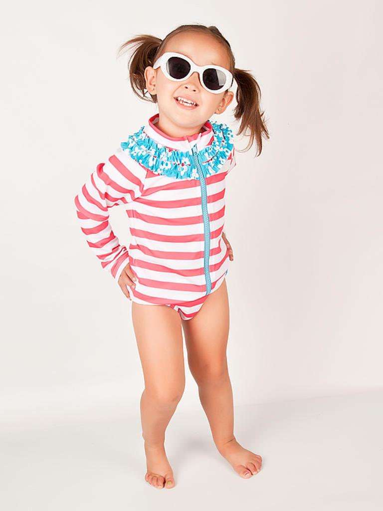 7be42526c44b7 Shop Splish Splash Sun Protective Swimsuit by SwimZip Swimwear